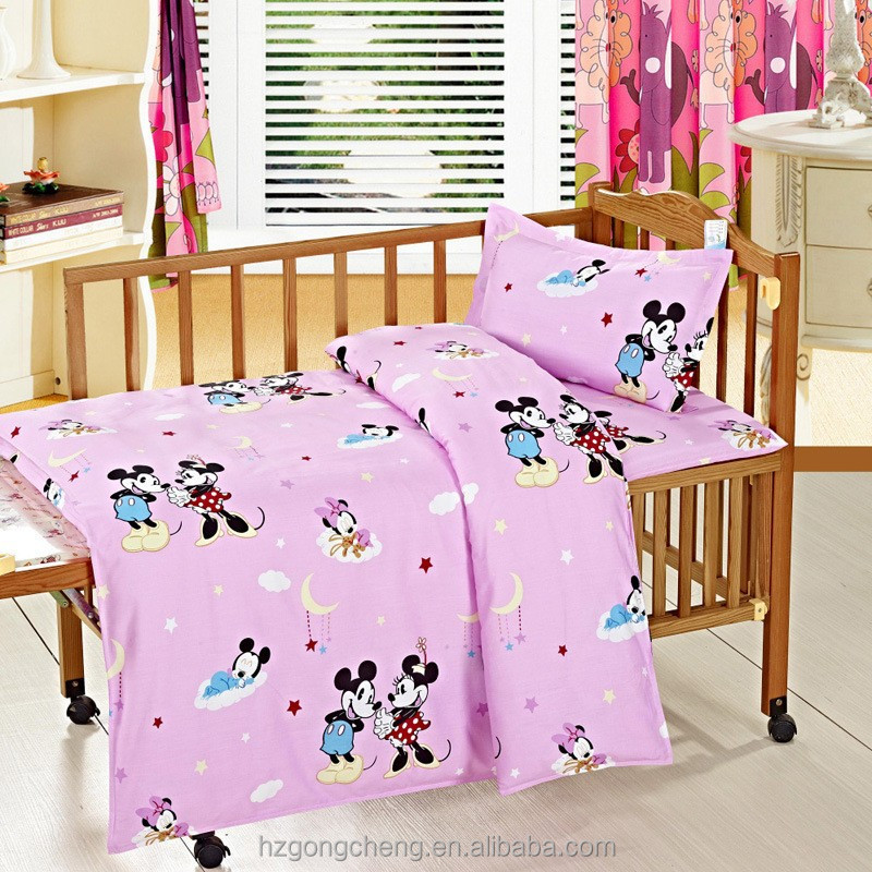 European Style Cotton Crib Baby Bedding Set Suitable for Baby Cot,kids bedding sets