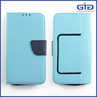 [GGIT] The Latest Contrast Color Design for Universal PU Leather mobile Phone Cover Case