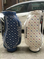 Manufacturer Customized Leather Golf Bag Golf Staff Bag