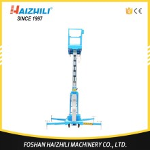 Factory telescopic electric boom lift / aluminum alloy aerial work platform