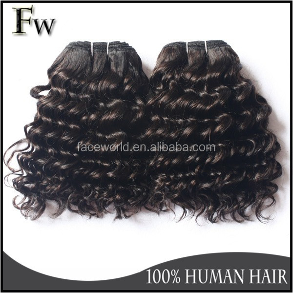 No tangle no shedding 12 inch human hair weave extension
