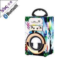 High quality sound box karaoke bluetooth portable audio speaker
