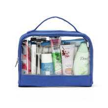 Brand new frosted pvc cosmetic bag for shopping