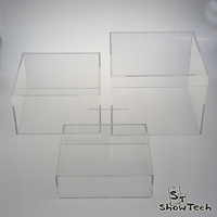 Frosted acrylic cube display plastic plexiglass cub box 5 sides cheap lucite acrylic display box ST-ACCUBEPF E05