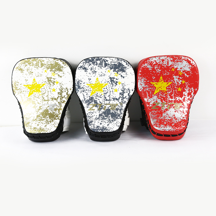 MMA, Boxing Training Equipment/ Curved Taekwondo Focus Mitt/Kicking Pad/Kickboxing Kicking Target/ boxing pads hand target