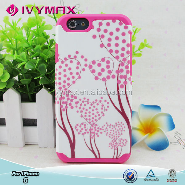 Cellular cell phone accessories phone cases for apple iphone 6 4.7'