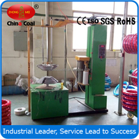 Multi-piece tyres wrapping film machine with high quality