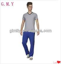 Plain leisure men sport trousers wholesale in China