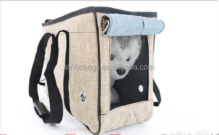 New design dog bag outdoor animal package quality rabbit cat crates foldable pet carrier