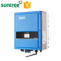 Light weight high efficiency 220V/230V/240V 180-280VAC 3kw solar inverter,dc ac solar power inverter