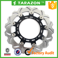 Floating motorcycle front brake disc for KTM ENDURO 690