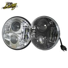 7 inch led headlight With DRL Auto Light For Jeep Wrangler