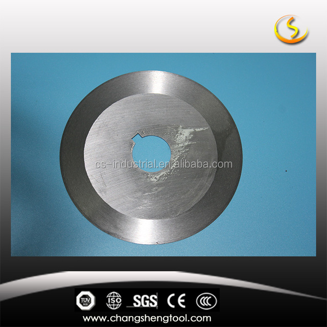 HIgh speed cutting circular (round) knife for cutting tabacco