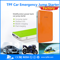 TPF mini emergency tool kit type car jump starter for diesel petrol car