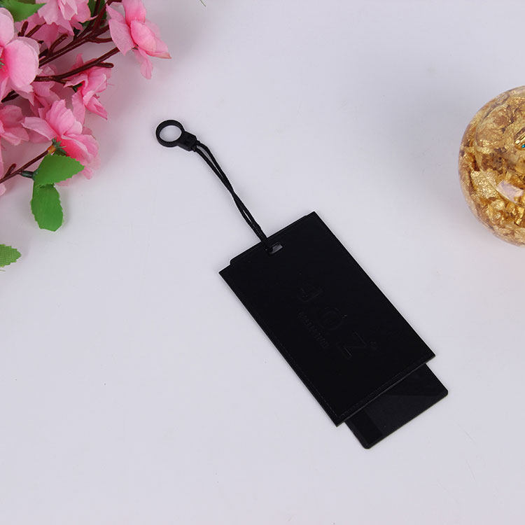 Hang tag for cloth plastic price tag