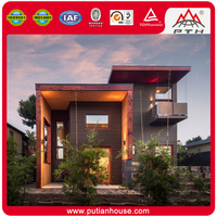High quality delicate design prefabricated modern home villa