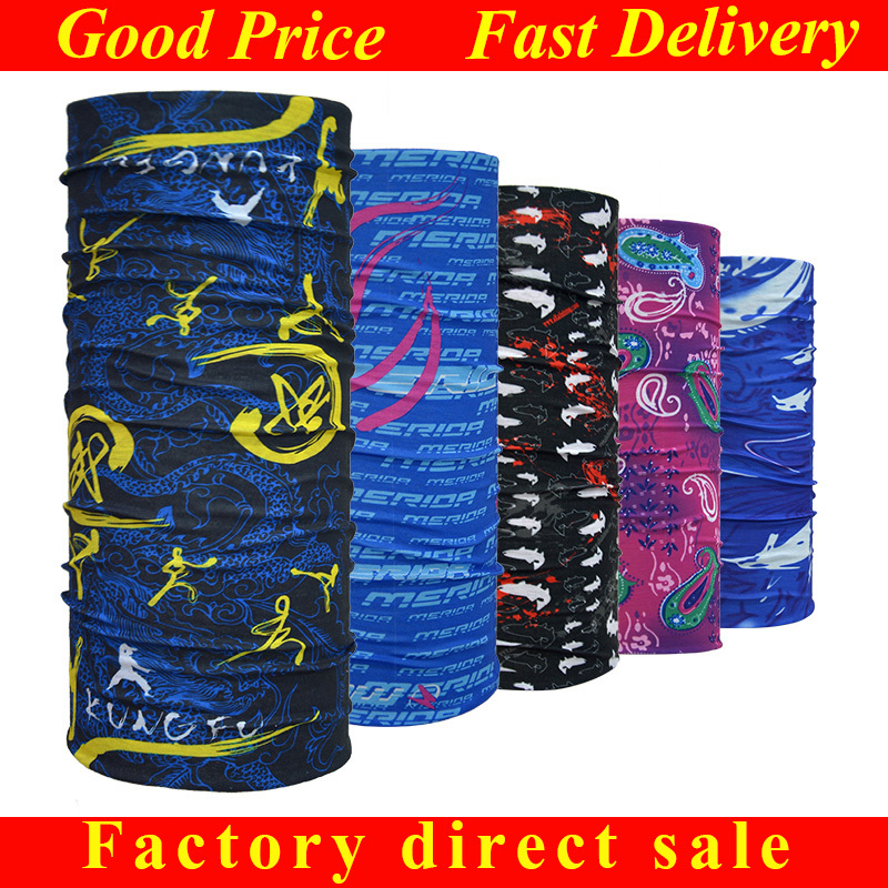 Wholesale Seamless Microfiber Promotional Bandana Magic Scarf