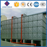 Galvanized water tank with bolts and nuts manufacturer/ Fire fighting Water Strorage Tanks