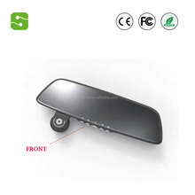 Hot selling 7 Inch Screen FHD1080P Front Back Camera G-sensor Motion Detection Rearview Mirror Car DVR Camera