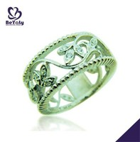 hot sale fashion desing ring jewelry man ring emerald