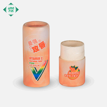 Small cylinder packaging box kraft custom paper tube for lip balm