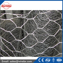 Electro Galvanized hexagonal wire netting Poultry cage fence mesh