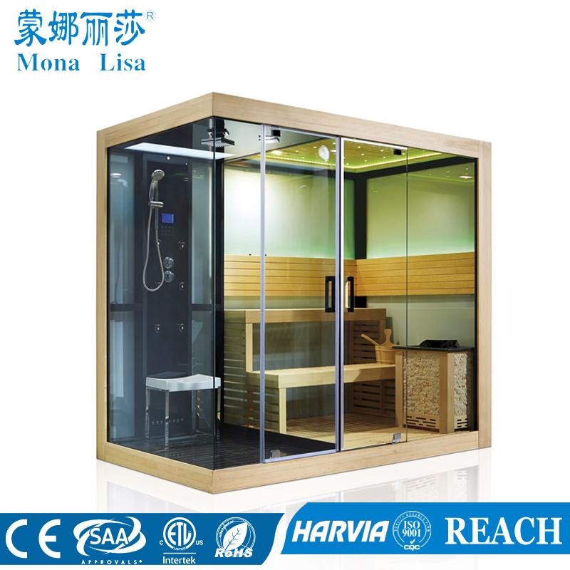Ducha de vapor sauna ba o cabina de ducha sauna m 6032 - Cabina ducha sauna ...