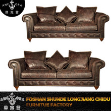 new model vintage sofa set picture living room furniture A127 3S