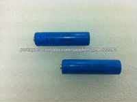 3.7v 800mah aa 14500 lithium ion battery cylindrical cells