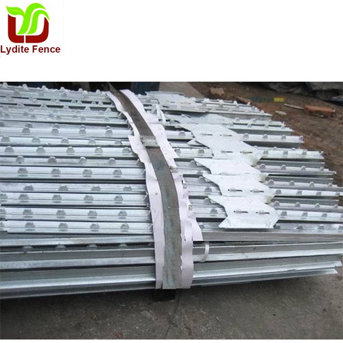 Hot Dipped Galvanized Steel Y post Star Picket
