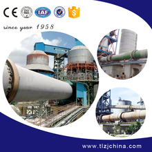 Professional activated carbon rotary kiln provided by TongLi since year 1958