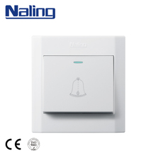 Naling European Safety Convenient Hotel Doorbell Touch Panel Press Wall Switch