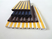 D-profile epdm rubber sponge weatherstrip with self adhesive