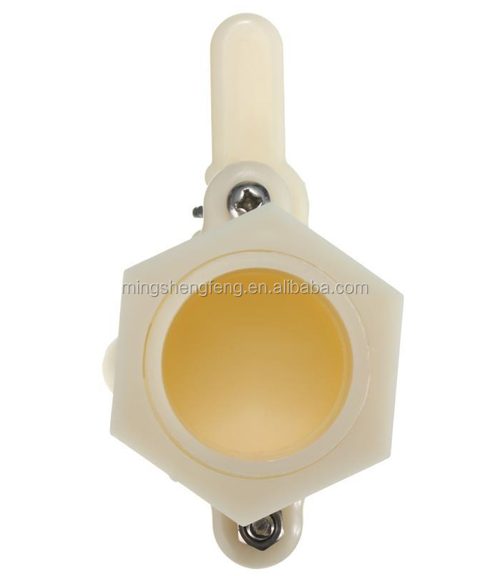 High quality Plastic Honey Gate Valve Honey Extractor Honey Tap Beekeeping Bottling Tool Bee Keeping Equipment