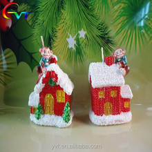 Christmas House Shaped Candles For Sale