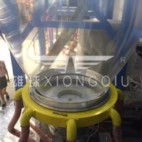 XIONGQIU ABC 3 layer 10m hign quality LDPE film blowing machine agriculture film