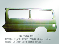 High Quality Steel Outer side Panel LH Used For Toyota Hiace Bus Door Parts