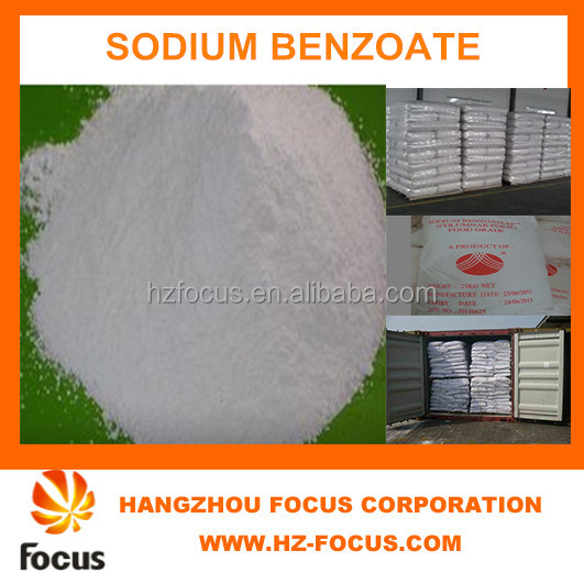 most beautiful price food ingredients Sodium Benzoate for food &beverage made in china