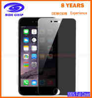 High transparent screen protector for iPhone 6 Privacy anti-glare tempered glass