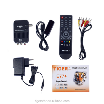Free to Air Receiver E77 plus Digital Satellite Receiver
