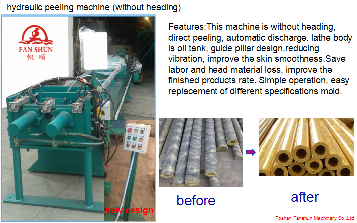 Brass Rod Horizontal Continuous Casting Production Line