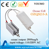 High performance 220v 2g Ozone Cell for water and air purification