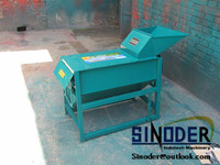 10-14t/h professional tractor corn sheller used to shell and remove the corn seeds from corncob.