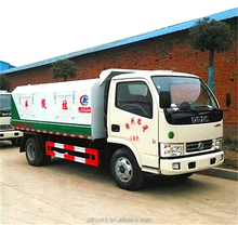 China dongfeng small 4m3 sealed container garbage trucks