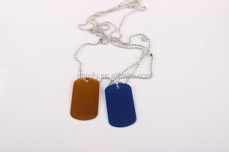 China Professional Manufacturer dog tag machine/dog tag necklace