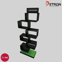 2016 high quality fashionable trade show shoes display stands & high-quality metal display stand