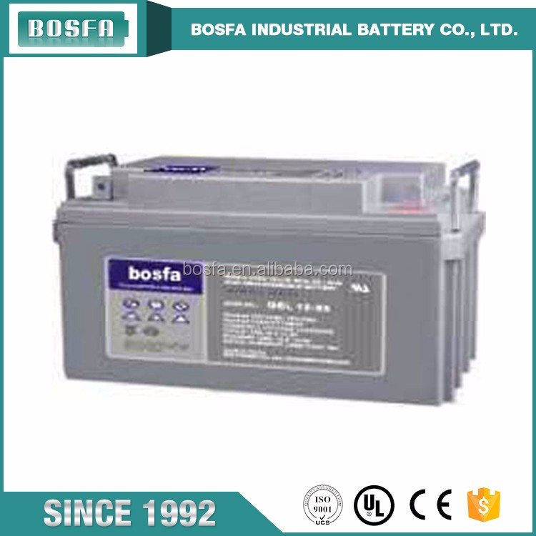 high battery 65 ah 12v high quality ups gel battery produced in guangzhou