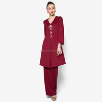 Sexy women muslim clothing wholesale isalmic clothing model baju kurung modern