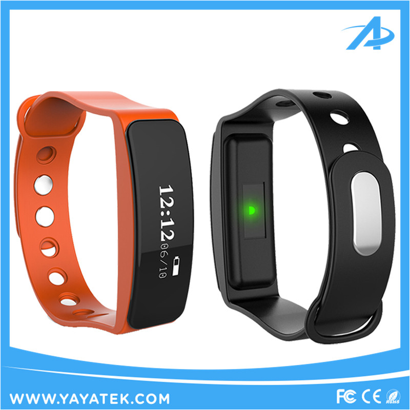 Original Sport Pedometer Watch and Smart Bracelet with OLED Display Heart Rate Monitor and Fitness Tracker