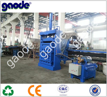HC82-630 Hydraulic Knitting Wool Waste Cotton Baling Machine